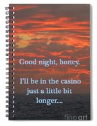 Going Down Spiral Notebook