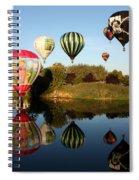 Going For A Dip Spiral Notebook