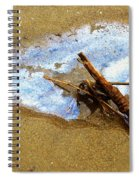 Going For A Swim Spiral Notebook