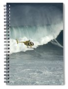 Going Left At Jaws Spiral Notebook