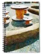 Going Round The Bend Spiral Notebook