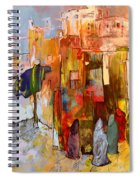 Going To The Medina In Morocco Spiral Notebook