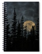 Going To The Sun Moonrise Spiral Notebook