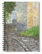 Going Up The Lane In Beynac Digital Print Spiral Notebook