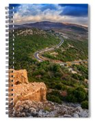 Golan Heights Spiral Notebook