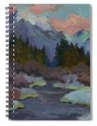 Gold Creek Snoqualmie Pass Spiral Notebook