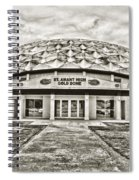 Gold Dome Spiral Notebook