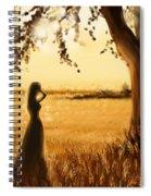 Gold Field Spiral Notebook