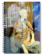Gold Glamour Spiral Notebook