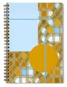 Gold Is My Wish Spiral Notebook