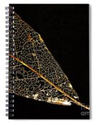 Gold Leaf Spiral Notebook