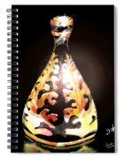 Gold Spiral Notebook