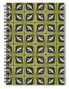 Gold Metallic 19 Spiral Notebook