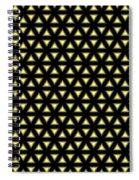 Gold Metallic 20 Spiral Notebook