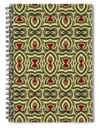 Gold Metallic 7 Spiral Notebook