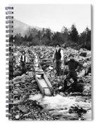 Gold Mining Claim C. 1890 Spiral Notebook