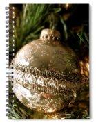 Gold Ornament Spiral Notebook