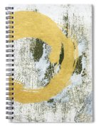 Gold Rush - Abstract Art Spiral Notebook