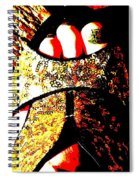 Gold Shoe Spiral Notebook