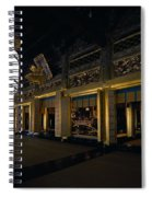 Golden Altar Of Kyoto Spiral Notebook
