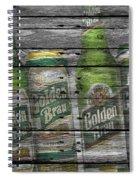 Golden Brau Spiral Notebook