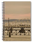 Golden Bridge Spiral Notebook