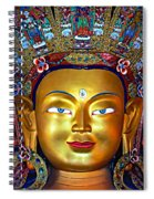 Golden Buddha Spiral Notebook
