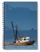 Golden Chalice Spiral Notebook