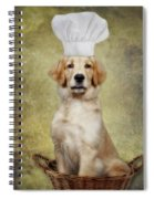 Golden Chef Spiral Notebook