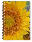 Golden Duo - Sunflowers Spiral Notebook
