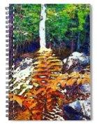 Golden Ferns Spiral Notebook