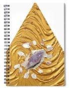 Golden Flow Creator Spiral Notebook