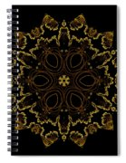 Golden Flower Of The Night Spiral Notebook