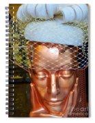 Golden Gal Spiral Notebook