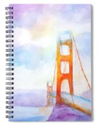Golden Gate Bridge 2 Spiral Notebook
