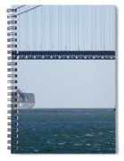 Golden Gate Bridge 3 Spiral Notebook