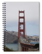 Golden Gate Bridge Spiral Notebook