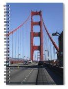 Golden Gate Bridge  Spiral Notebook