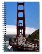 Golden Gate Bridge Looking South Spiral Notebook