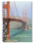 Golden Gate Spiral Notebook