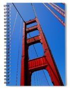 Golden Gate Tower Spiral Notebook