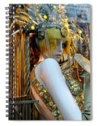 Golden Girl Spiral Notebook
