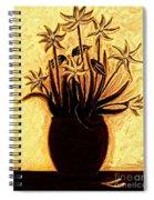 Golden Glories Spiral Notebook