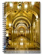 Golden Government Spiral Notebook