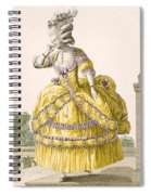 Golden Gown, Engraved By Dupin, Plate Spiral Notebook