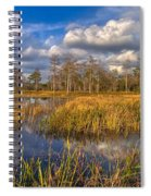 Golden Grasses Spiral Notebook