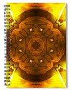 Golden Harmony - 2 Spiral Notebook