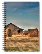 Golden Hay Spiral Notebook