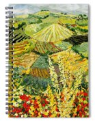 Golden Hedge Spiral Notebook