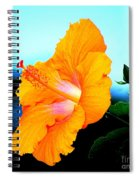 Golden Hibiscus Spiral Notebook